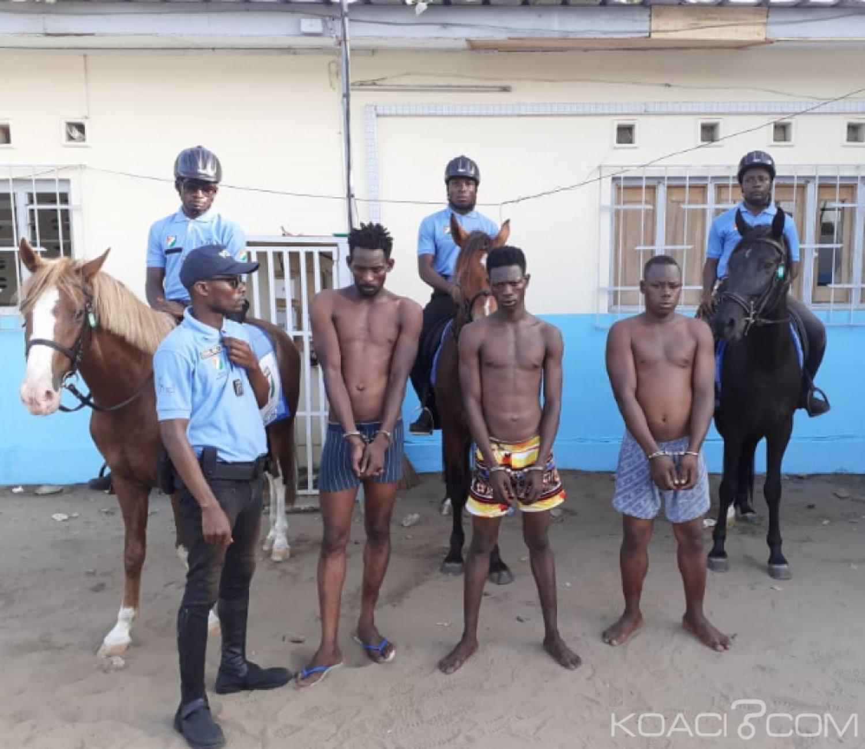 Côte d'Ivoire : Des individus qui s'adonnaient à des agressions sur les plages de Grand Bassam  interpellés