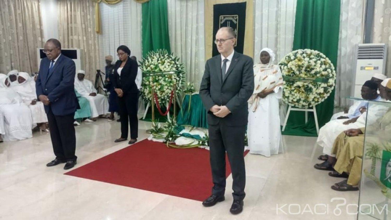 Côte d'Ivoire : Abidjan, décédé le 22 avril dernier, la nation rend hommage à l'Ambassadeur El Hadj Vazoumana Touré