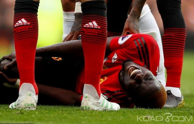 Côte d'Ivoire : Eric Bailly victime d'une blessure au ligament du genou droit  ne jouera pas la CAN 2019