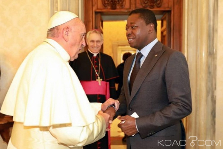 Togo-Vatican : Le Pape François et Faure Gnassingbé discutent du Togo et de sécurité