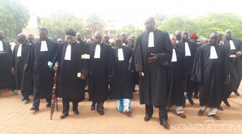 Burkina Faso : Des avocats dénoncent le blocage de l'appareil judiciaire