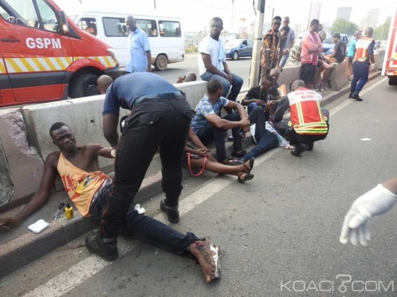 Côte d'Ivoire : Au Plateau, un accident entre un camion de transport et une moto fait 13 victimes