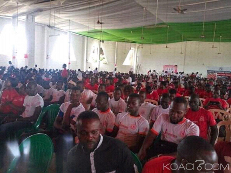 Côte d'Ivoire : Bouaké, à la rentrée solennelle de la JPAD, Amadou Koné appelle la jeunesse à une mobilisation