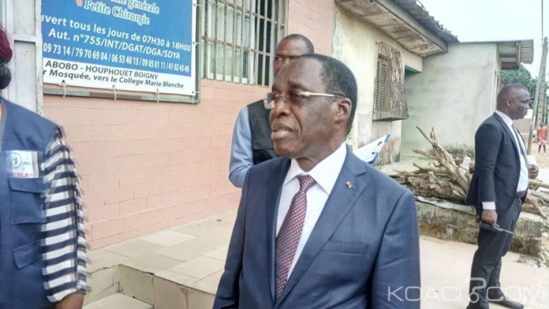 Côte d'Ivoire : Abobo, Aka Aouélé ordonne la fermeture de trois centres de santé privés et annonce l'ouverture de l'hôpital Houphouët-Boigny le 15 mai