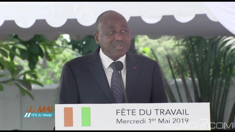 Côte d'Ivoire : Fête du travail, Amadou Gon Coulibaly, informe les fonctionnaires de la non prise en compte des stocks des arriérés de salaires de 1988 à 2008 par le Gouvernement