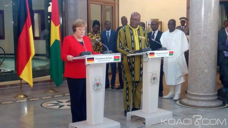 Burkina Faso : L'Allemagne annonce une aide de 46 millions d'euros pour le développement et la lutte contre le terrorisme
