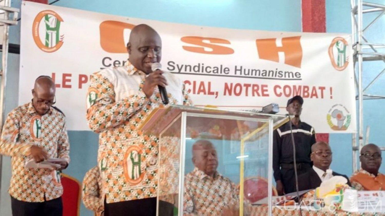 Côte d'Ivoire : La Centrale syndicale Humanisme dénonce l'attitude de la ministre Anne Ouloto qui refuse la décision de la CNDS relative à la réintégration de deux responsables syndicaux