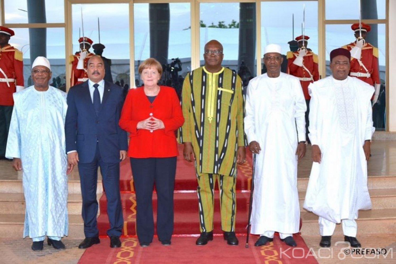 Burkina Faso : Fin de la visite d'amitié et de travail d'Angela Merkel