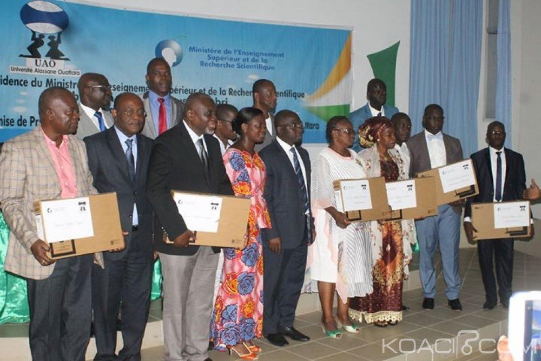 Côte d'Ivoire:  Célébration de la fête du travail, l'UAO récompense ses meilleurs agents