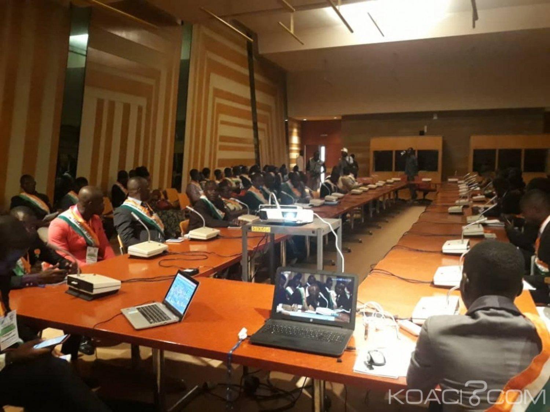 Côte d'Ivoire : Cérémonie d'ouverture des travaux de la Première Session Ordinaire du Parlement des jeunes