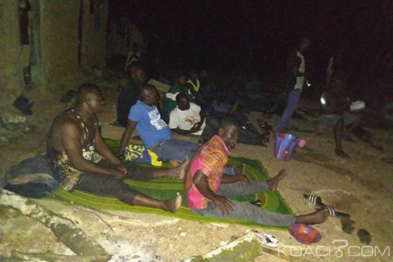 Côte d'Ivoire : Forêt classée de Rapide Grah nord, des orpailleurs clandestins interpellés, accusent des agents de l'UGF d'être leurs complices