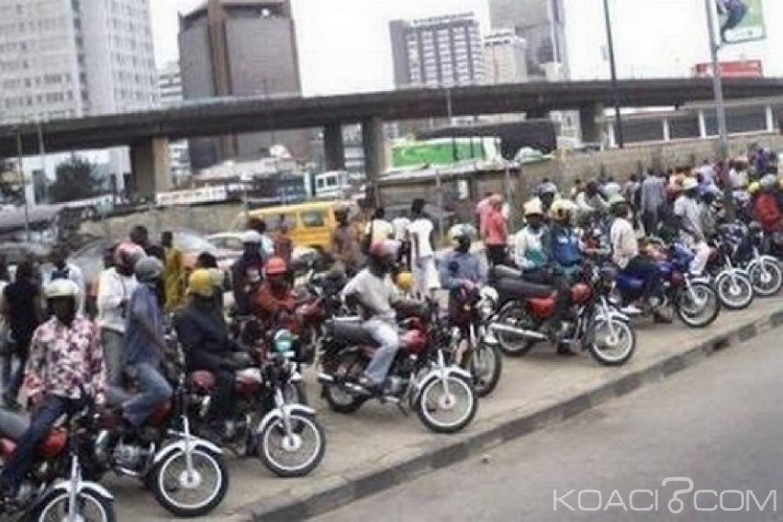Nigeria : L'Armée interdit les motos-taxis dans sept Etats