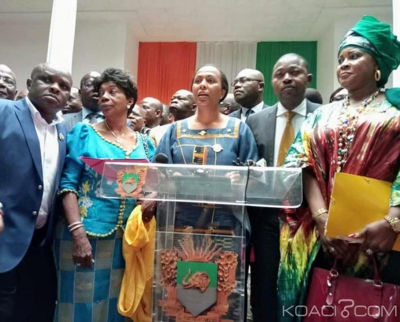 Côte d'Ivoire: Assemblée nationale, trois groupes parlementaires s'opposent à la mise en place du bureau et quittent l'hémicycle
