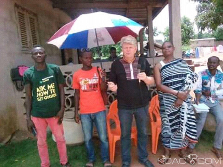 Côte d'Ivoire-Pays Bas : Pour une meilleure production d'oignons, la Tribu Srê bénéficie des conseils d'un expert agronome
