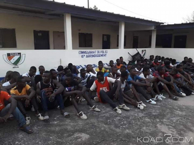 Côte d'Ivoire: Descente policière dans un fumoir, plusieurs interpellations, et de la drogue saisie à Yopougon