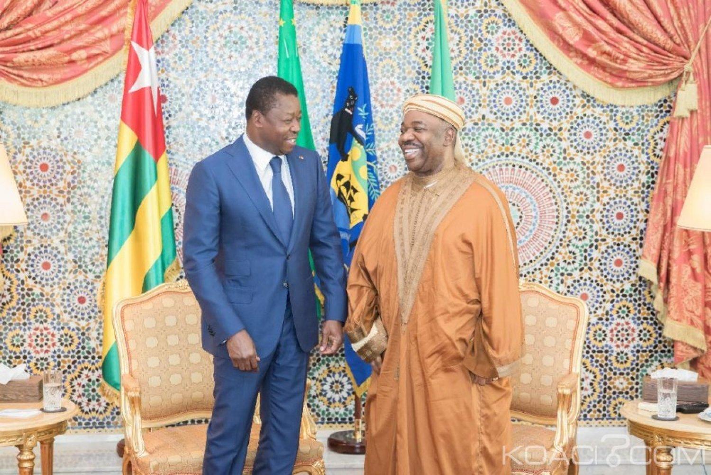 Gabon-Togo: Bongo reçoit son allié africain Faure à Libreville pour faire le point des dossiers en cours