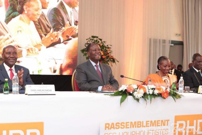 Côte d'Ivoire: Réunion du conseil politique du RHDP, Ouattara annonce la mise en place au cours de ce mois, du Conseil National, du Bureau Politique et du Directoire