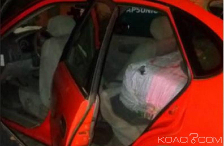 Côte d'Ivoire: Deux suspects interpellés à bord de taxi rempli de cannabis à Koumassi