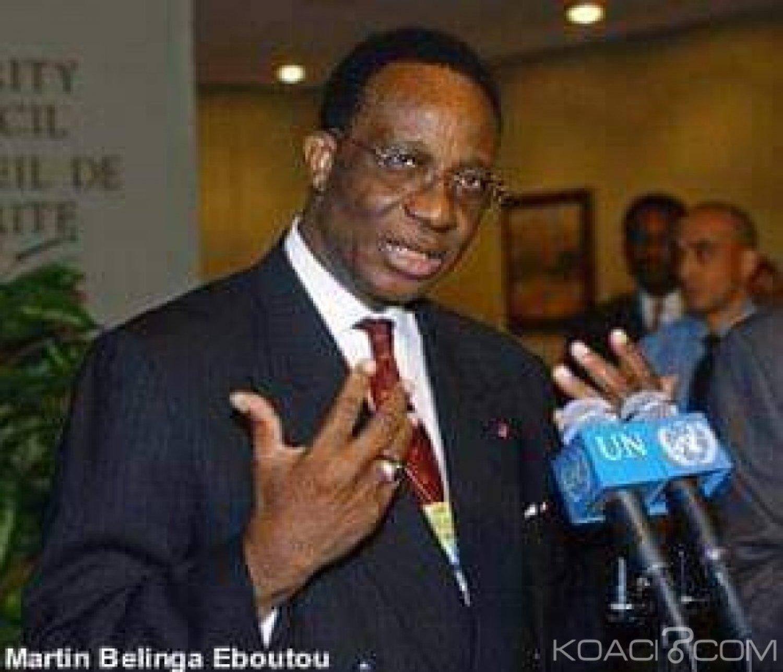 Cameroun :  Décès de Belinga Eboutou ex-directeur du cabinet civil et bras droit de Biya