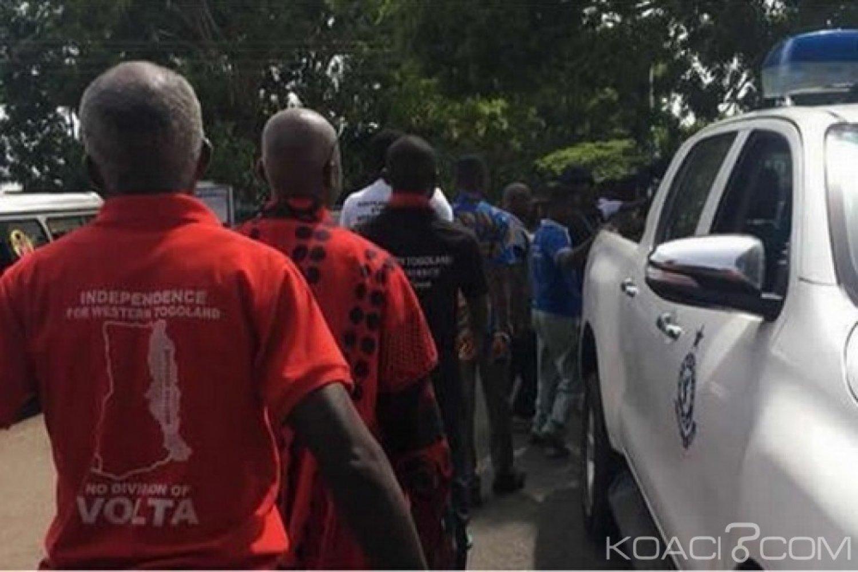 Ghana : Comparution des leaders du Togoland, 81 autres arrestations, patrouille dans la région
