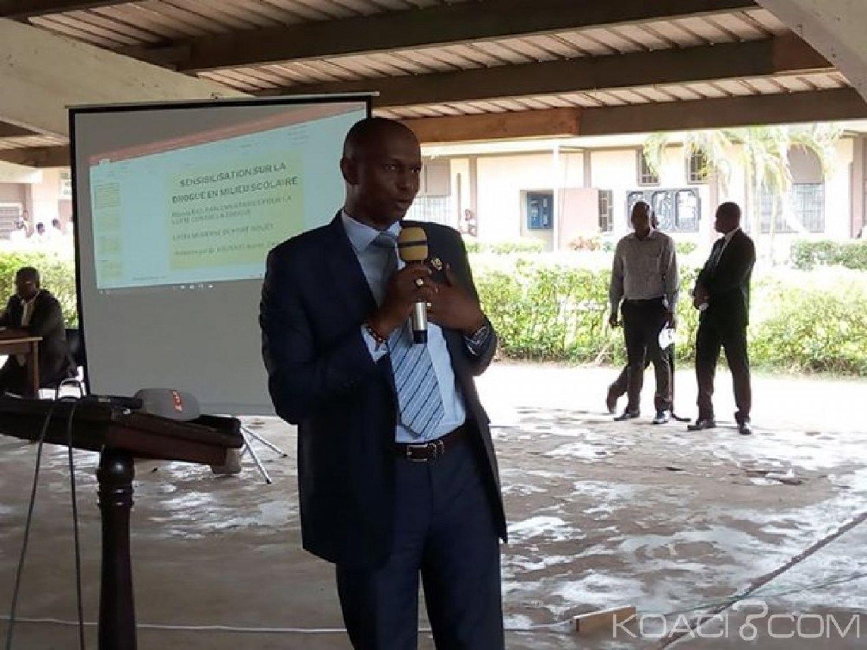 Côte d'Ivoire : Port-Bouët, le Proviseur du Lycée moderne déplore l'existence d'un fumoir à proximité de «son» établissement