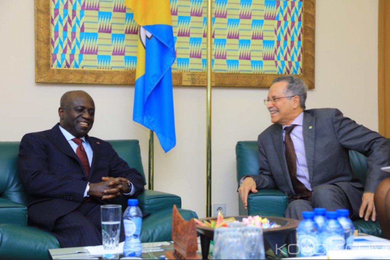 Côte d'Ivoire-UE: Depuis Bruxelles, Amon Tanoh, «Nous voulons un partenariat gagnant-gagnant avec des investisseurs européens»