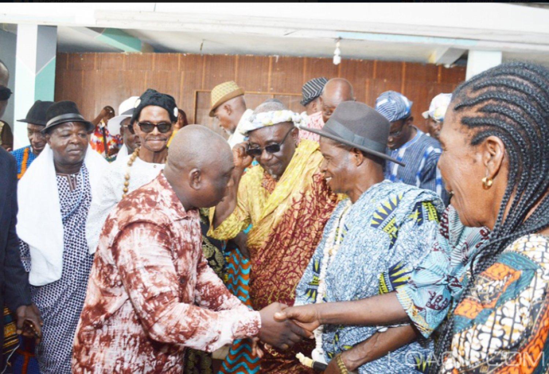 Côte d'Ivoire : Face aux chefs Bétés à Yopougon,  KKB révèle le contenu de ses rencontres avec Gbagbo et Ouattara