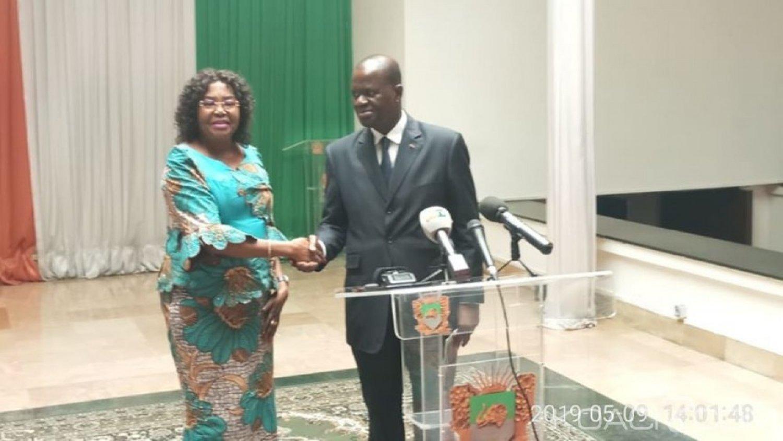 Côte d'Ivoire :  L'UA remet sa feuille de route à Soumahoro afin que les députés accompagnent Ouattara dans sa mission de champion de l'Agenda 2063