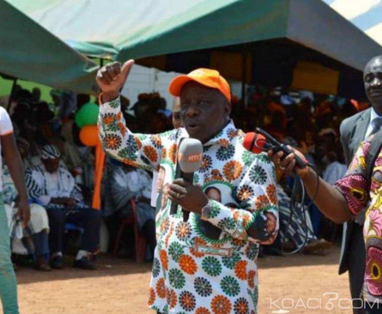 Côte d'Ivoire : Dr Albert Flindé  sort du silence et veut faire rayonner le RHDP dans le Tonkpi, Mabri menacé ?