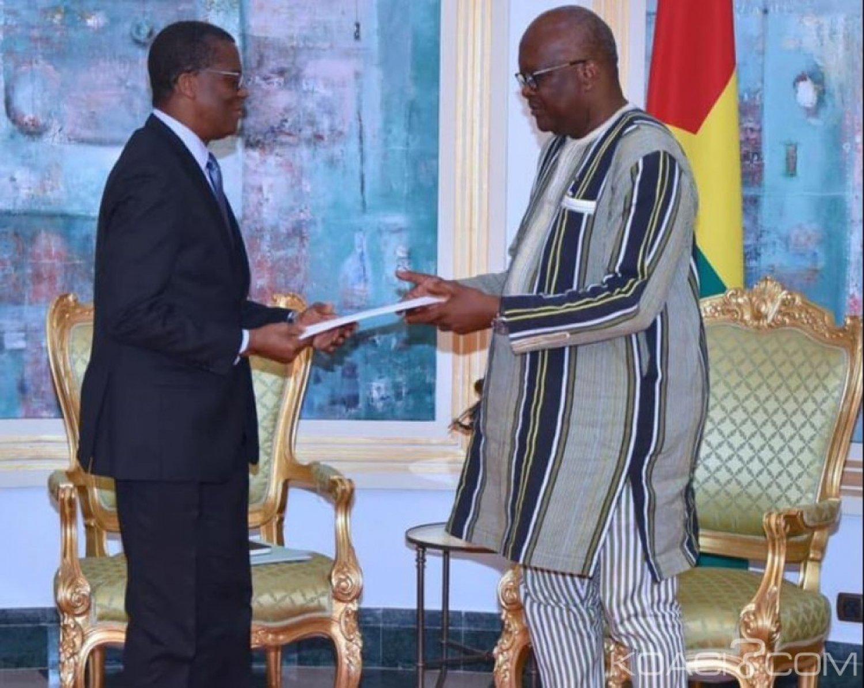 Burkina Faso : Un envoyé spécial de Patrice Talon chez le président Kaboré