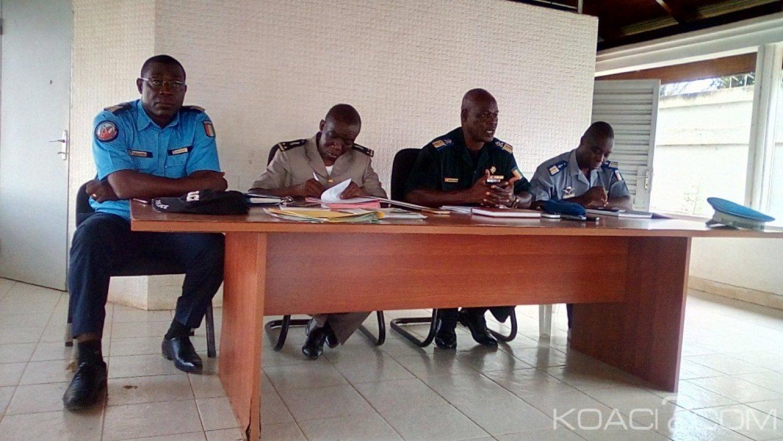 Côte d'Ivoire : Bouaké, pour mettre fin à l'incivisme des usagers de la route, les hauts commandants des forces réunis annoncent la répression