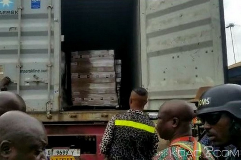 Ghana : Un conteneur suspect « d'armes » intercepté au port de Tema