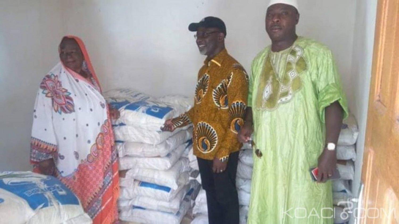 Côte d'Ivoire : Duékoué, le maire s'inspire de la politique sociale prônée par Alassane Ouattara et fait don de 3 tonnes de sucre à la communauté musulmane