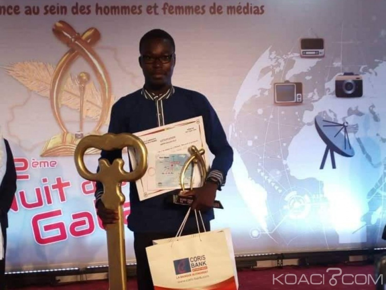Burkina Faso : Le journaliste Hugues Richard Sama sacré super galian