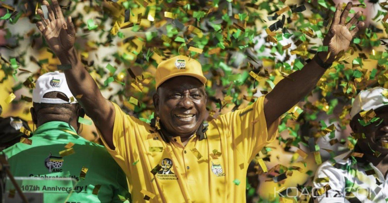 Afrique du Sud: Législatives, l'ANC rafle la majorité des sièges avec 57,4 % des voix, percée de Malema