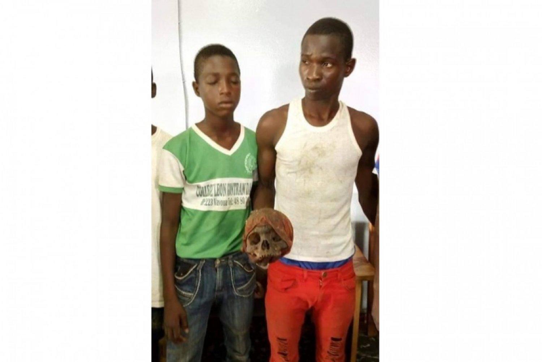 Côte d'Ivoire: Des élèves en possession d'un crà¢ne humain interpellés