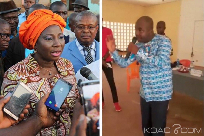 Côte d'Ivoire: Répondant à Kandia, depuis Bouaké, Attaby catégorique «demain aucune mouche ne doit voler»