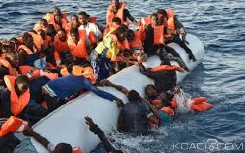 Libye :  147 immigrants clandestins sauvés par la  marine au large
