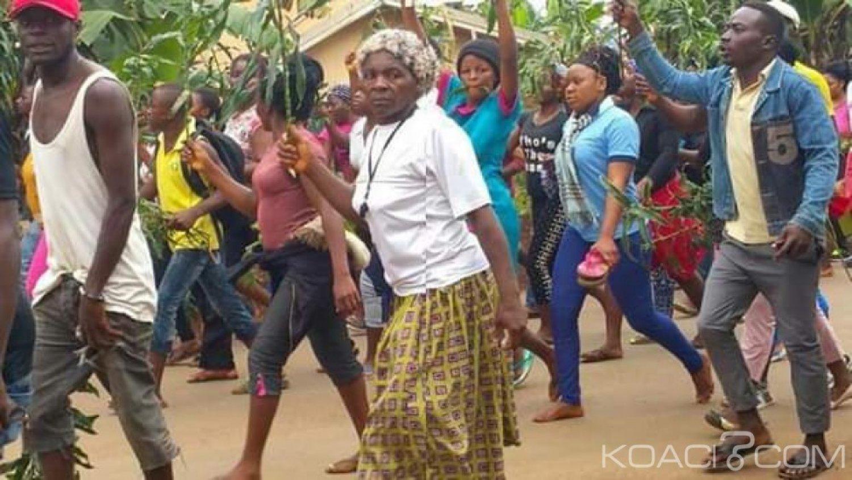 Cameroun :  Des habitants de Pinyin manifestent contre les exactions sécessionnistes