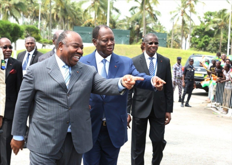 Côte d'Ivoire-Gabon: Alassane Ouattara attendu mercredi à Libreville par Ali Bongo