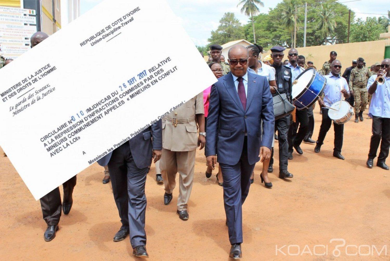 Côte d'Ivoire : Répression des «microbes» Sansan a bel et bien transmis une circulaire aux magistrats en 2017