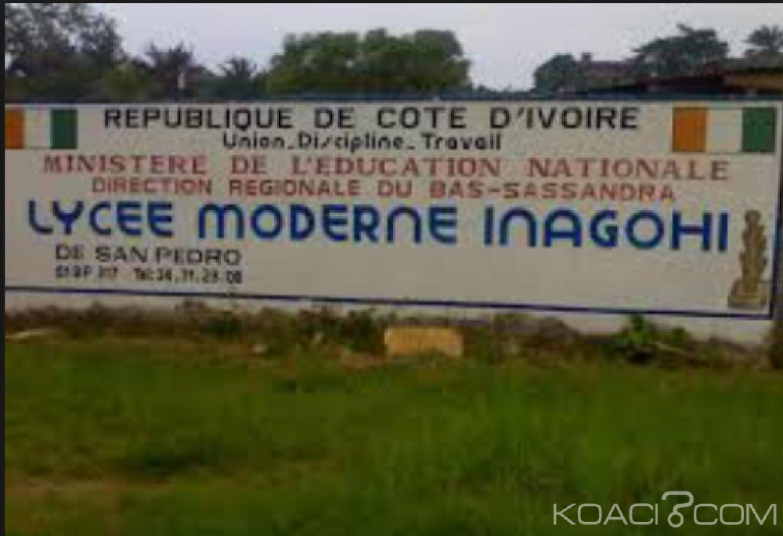 Côte d'Ivoire : San Pedro, seulement 15 jours d'exclusion pour un élève qui a battu un enseignant  de 64 ans