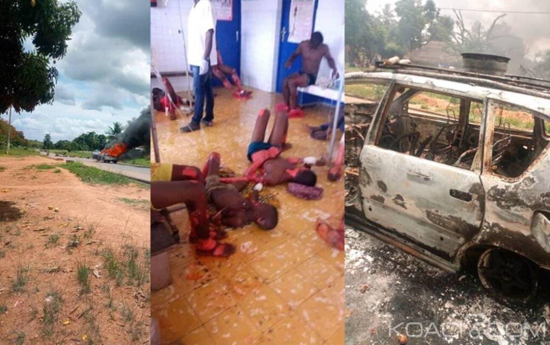 Côte d'Ivoire : Béoumi, pour avoir transporté des passagers depuis «leur» gare, un conducteur de moto-taxi tailladé à la machette