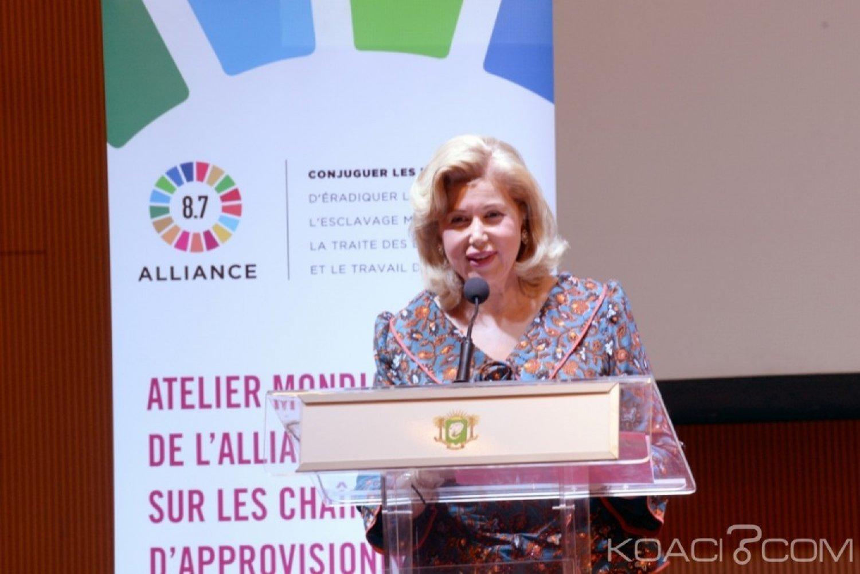 Côte d'Ivoire : 2ème réunion mondiale de l'Alliance 8.7, Dominique Ouattara dresse le bilan de la lutte contre les pires formes de travail des enfants