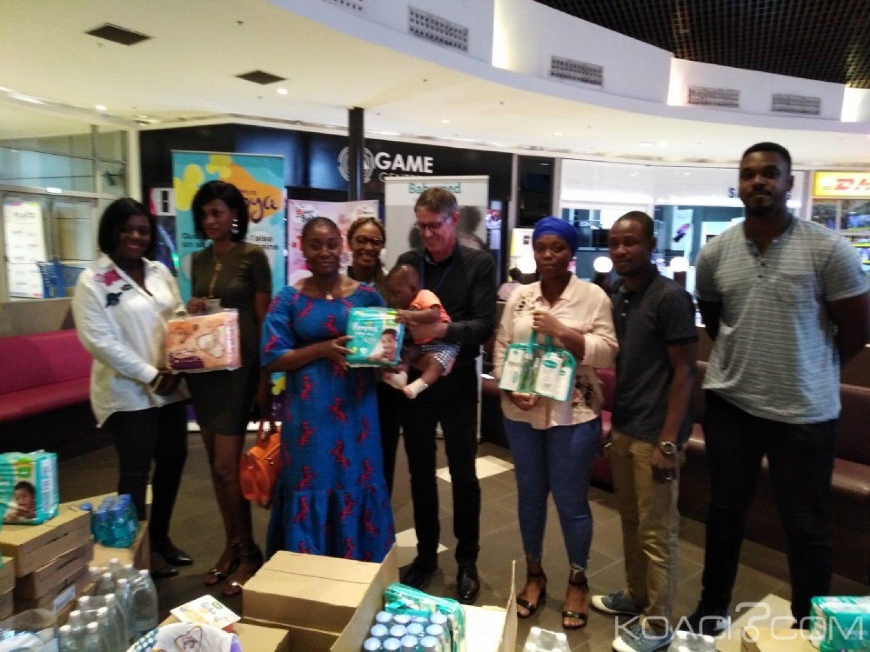 Côte d'Ivoire: Trois mamans récompensées pour le jeu promo Playce opération bébé