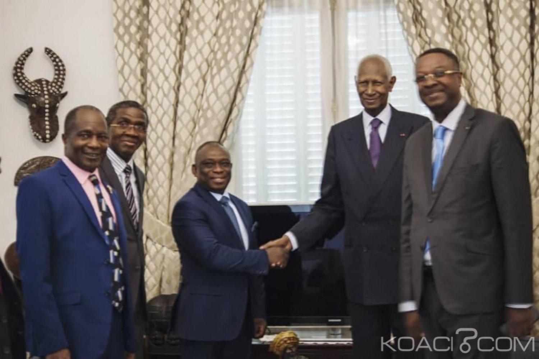 Côte d'Ivoire : À Paris, une délégation conduite par KKB reçue par Abdoul Diouf, l'ancien député veut mobiliser les forces vives pour la réconciliation