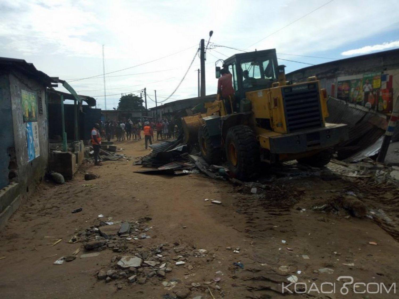Côte d'Ivoire : A Abobo, une opération de déguerpissement pour « mettre fin au désordre » dans la commune