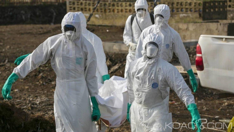 RDC: 101 agents de santé  contaminés par le virus Ebola , 34 décès enregistrés