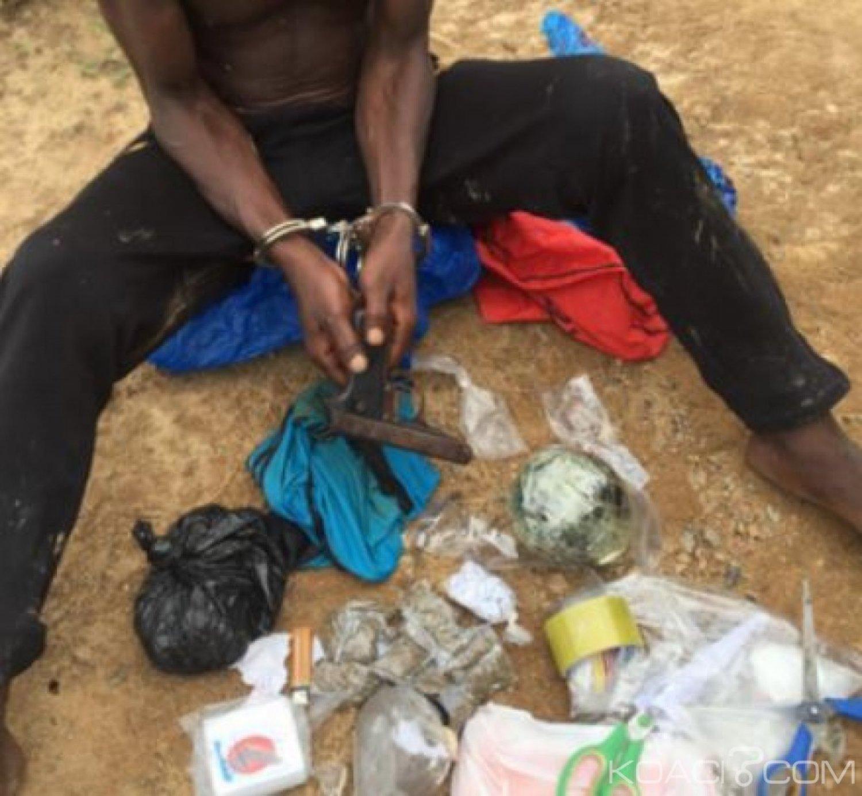 Côte d'Ivoire: Un braqueur-dealer présumé interpellé par la police à Aboisso, son acolyte recherché