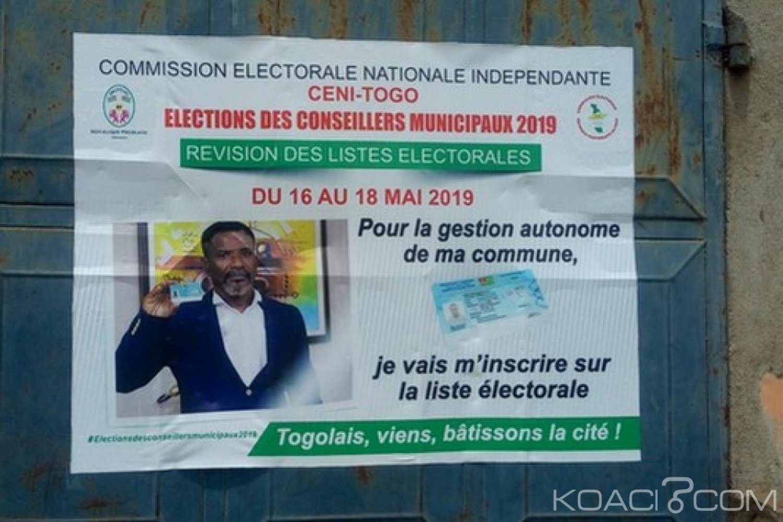Togo : Elections locales, top départ pour la révision des listes électorales